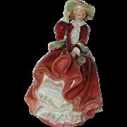 "Vintage Royal Doulton Figurine ""Top of the Hill"" 7"" - HH1334 JP - Signed Bone C"