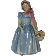 "Vintage Royal Doulton Figurine ""Wendy"" HN 2109 BH Signed- 1952 Perfect"