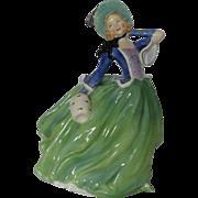 "Vintage Royal Doulton Figurine ""AUTUMN BREEZES"" No.835666 HN1913 - Perfect"