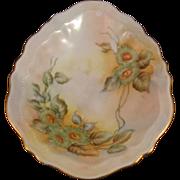 O&EG Royal Austria Hand Painted Egg Shape Multi color Dish 1899 -1913 Excellent ...