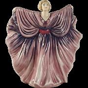 "Bone China English Royal Doulton Figurine ""Isadora"" HN5655 Numbered Limited Ed."