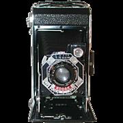 Kodak Six.20 Black Film Camera f 6.3 100 mm Kodak Anastigmat Lens Case ...