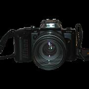 Nikon N4004s 35mm SLR Camera AF Nikkor 70-210 mm 1:4-5.6 Lens ...