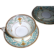 SALE Paragon ADAM 1 cup and 4 saucers 1930's
