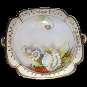 SALE Lovely old  handle serving bowl, Noritake