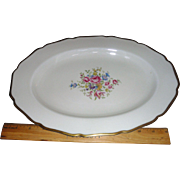 SALE BAVARIA China, THOMAS CHINA , from the 30's,  12 1/2 inch Platter