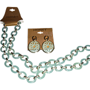 "Mid 60""s MONET Set,  Necklace and earrings"