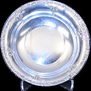 SALE American Repousse Bowl, Floral Watson Company