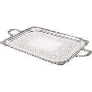 SALE An Edwardian silver two-handled tray, Walter & Charles Sissons, London, 1901 33 ' 188