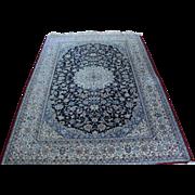 "SALE Super Fine Persian Isfahan Oriental Rug  650 KPSI  5'5""x 8"""