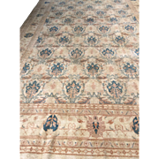 SOLD Turkish Oushak Hand made Oriental Wool Rug 12'x19'5 Excellent Condition