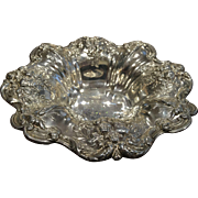 """SALE Francis I Sterling Silver Footed Bowl 8"""" Reed & Barton 1956 X569F 10.7 Troy Oz."""