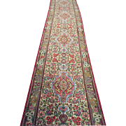 SALE Qum, Persia, 40 years old, 13.66'x2.78'  Excellent condition