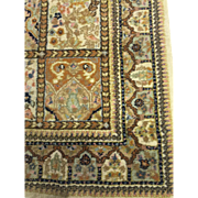 SOLD Persian Oriental Fine Tabriz Wool Ivory Hand Knotted 4'x6'