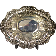 SALE Reed & Barton Francis I STERLING SILVER Oval Footed Serving Vegetable Bowl X566F