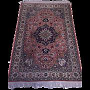 """SALE Exquisite Persian Tabriz Rug Silk & Wool 350 KPSI 4'80""""x3'30"""""""