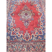 """SALE Authentic Persian Sarouk Oriental Rug Hand Knotted 11'4"""" x 9'1'"""