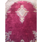 "SALE Fine Authentic Persian Kermen Oriental Rug 18'3"" x 10'9""Excellent Condition"