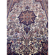 """SALE Fine Hand Made Persian Bijar Wool Rug 10'6 """"x 6'8""""  Excellent Condition"""