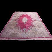 "REDUCED Fine Authentic Persian Kermen Oriental Rug 9'8"" x 14'2""   Excellent Conditio"
