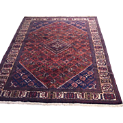 "SALE Vintage Persian Joshagan Carpet 10'4"" x 7'1"""
