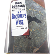"""=Signed 1st Edition= John Dunning: """"The Bookman's Wake"""""""