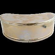 =RARE= Dandy's belt-worn bait box ca.1875-1900, Chrome on Copper