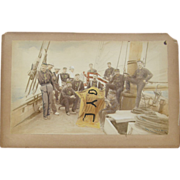 TWO Navy Photographs ca.1870's American
