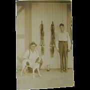 RPPC hunting 1932, Champaign, Illinois