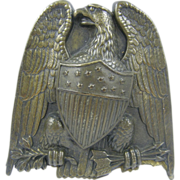 Paperholder, ca.1850's, Federal Eagle & Shield