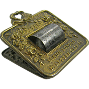 RARE Paperholder or paperclip, ca.1840, Lund of London office library