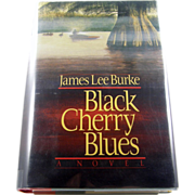 "=Signed 1st Edition= James Lee Burke: ""Black Cherry Blues"""