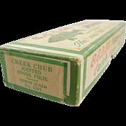 "Fishing lure box, CCBCO, Creek Chub box 7.5""L, for a Jointed Snook N ..."