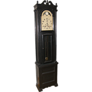 =Original Paint= Tallcase clock ca.1870-1900, Marion Virginia, Texas Republic & Confederat