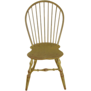Set 6 bowback Windsor chairs, handmade reproductions
