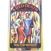 "=Signed 1st Edition= Walter Mosley: ""A Red Death"""