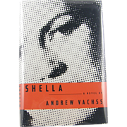 "=Signed 1st Edition= Andrew Vachss: ""Shella"""