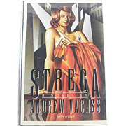 "=Signed 1st Edition= Andrew Vachss: ""Strega"""