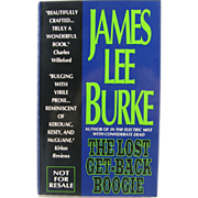 "=Signed 1st Edition= James Lee Burke: ""The Lost Get-back Boogie"" =Paperback="