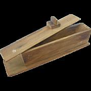 "=RARE= turkey call, ""prototype"", long paddle box type"