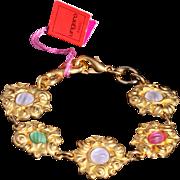 SALE Paris Haute Couture Emmanuel Ungaro Bracelet, 1980s