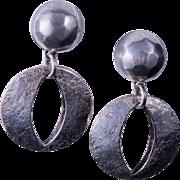 SALE Marjorie Baer Pierced Mixed Metal Hoop Earrings