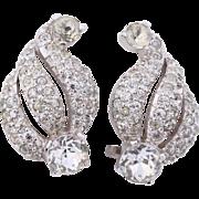 Christian Dior by Kramer Diamante Earrings