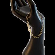 7 Inch Chain Link Bracelet 14/20 Gold Filled