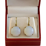 Very Sweet Faux Moonstone Earrings