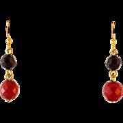 Resin Bead Drop Earrings