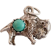 Turquoise & Buffalo Charm
