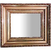 Antique Gold-Frame Mirror