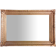 Vintage Gold Frame with Mirror 43 x 29""