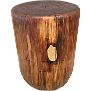 Gilded Walnut Low Stool